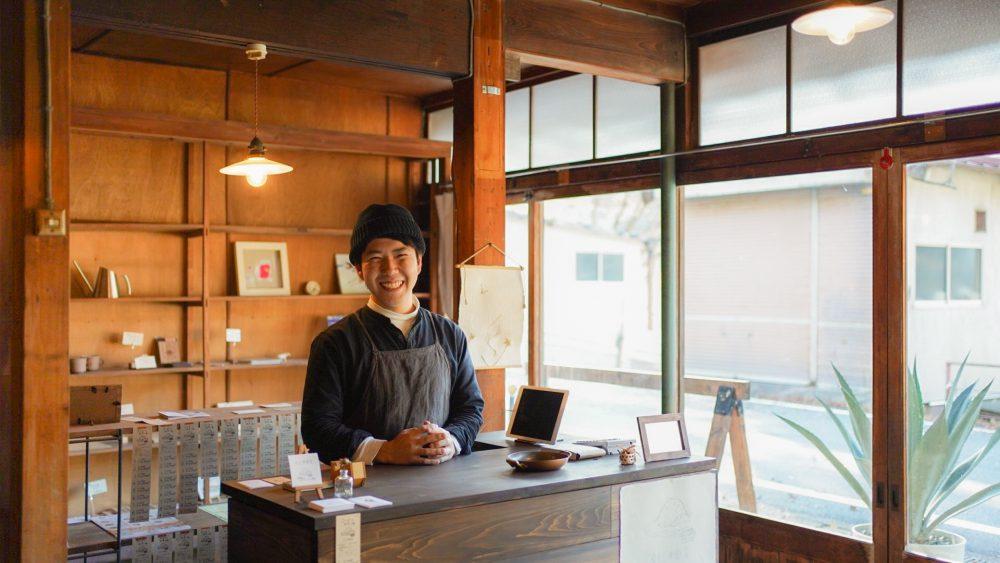 Yoichi Kasuya, the owner.